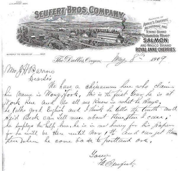 Letterhead for Suefert Bros. Co