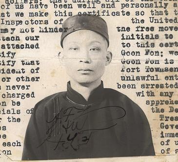 Goon Fon affidavit photo