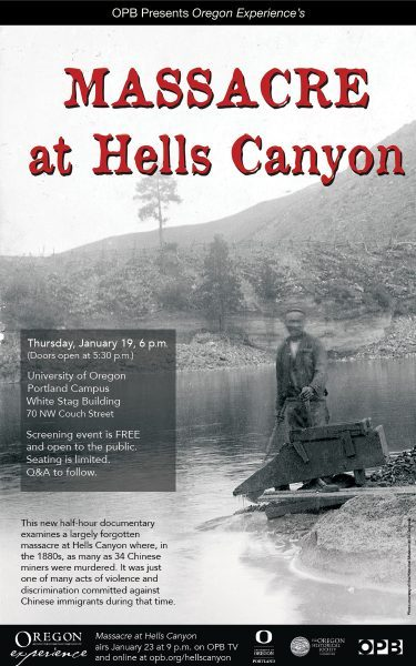 Hells Canyon documentary poster