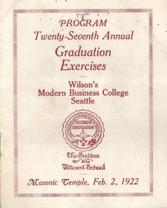 Wilson's Modern Business College Program