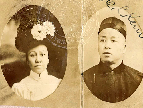 Photo of Fong Gum and Sam Chong