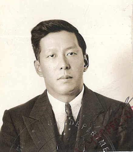 William Jue Poy, photo 1932