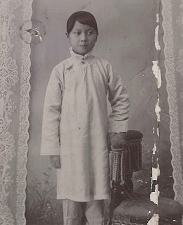 photo of Soong May Ling 1907
