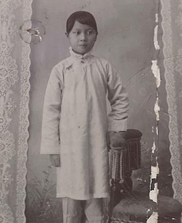 photo of Soong May Ling 1907