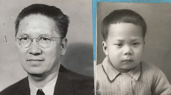 1939 Affidavit Photos of Chin On and Chin Shik Kuey,