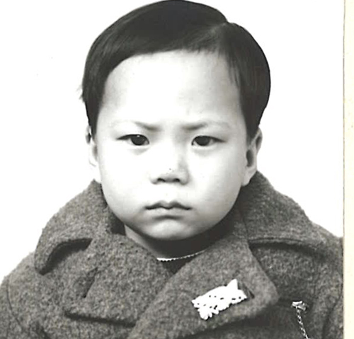 Chin Shik Kuey photo, age 3