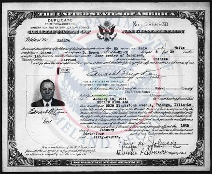 Kan Edward Bing Citizenship