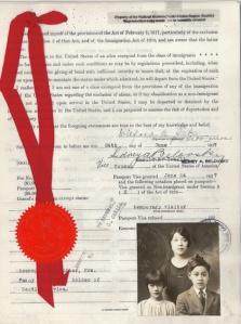 Seto More Fannie Red Ribbon Fam 1927