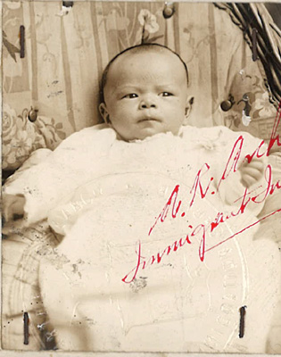 Mei Lai Gay Agnes 1927 baby photo