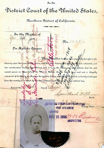Writ of Habeas Corpus, Order of Discharge