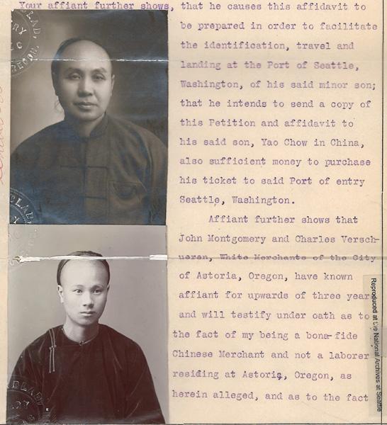 You Choi Go Yao Chow Aff 1910