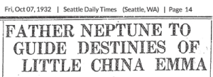 Chon Chow Ling Seattle Times article headline